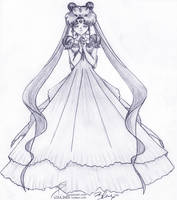 Princess Serenity by Loulines