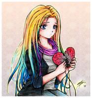 Repair the broken heart by Loulines