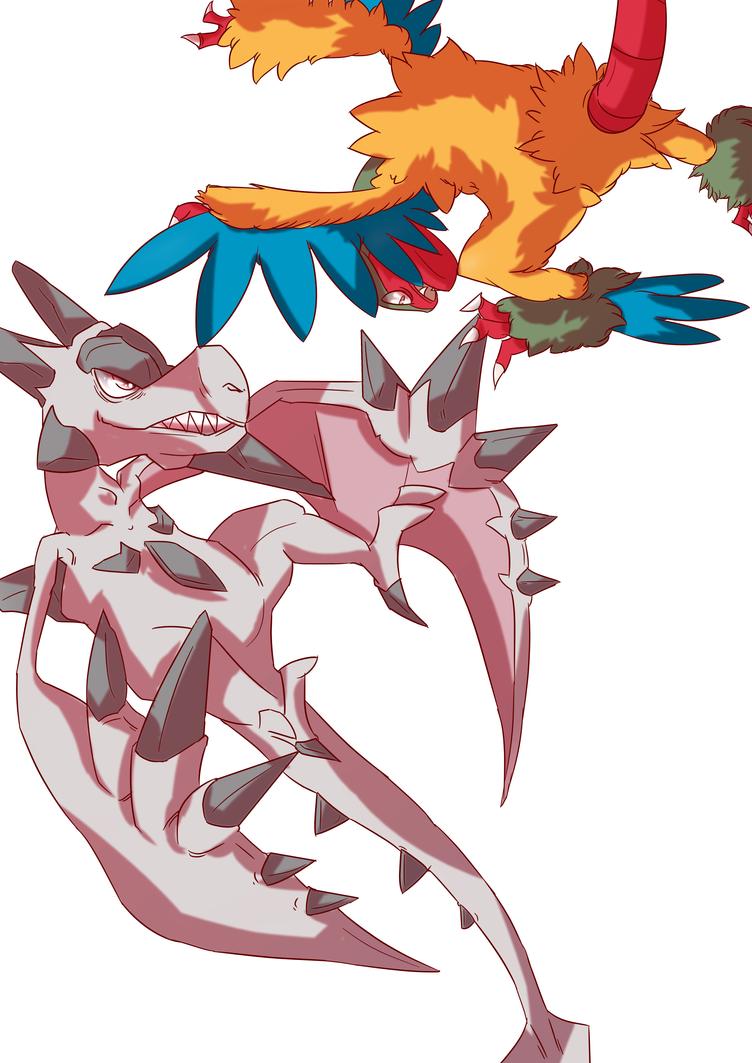 Extras mega ptera aerodactyl alt color by autobottesla on deviantart - Ptera pokemon y ...