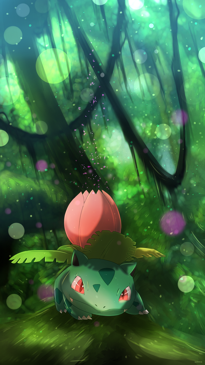 Ivysaur By AutobotTesla On DeviantArt