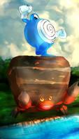 Day 299 - Nyorozo   Poliwhirl (Shiny)