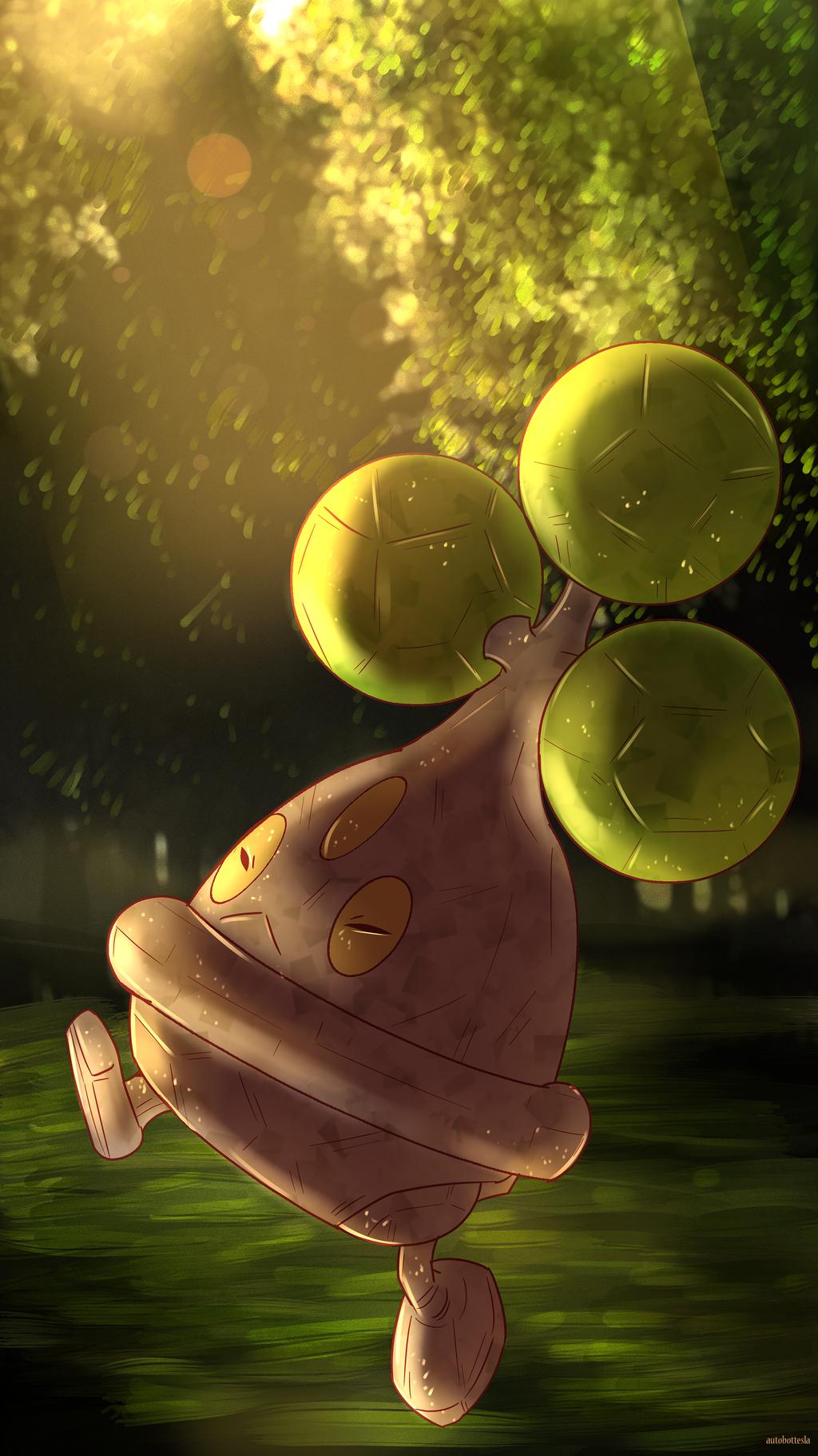 Day 315 - Usohachi | Bonsly by AutobotTesla