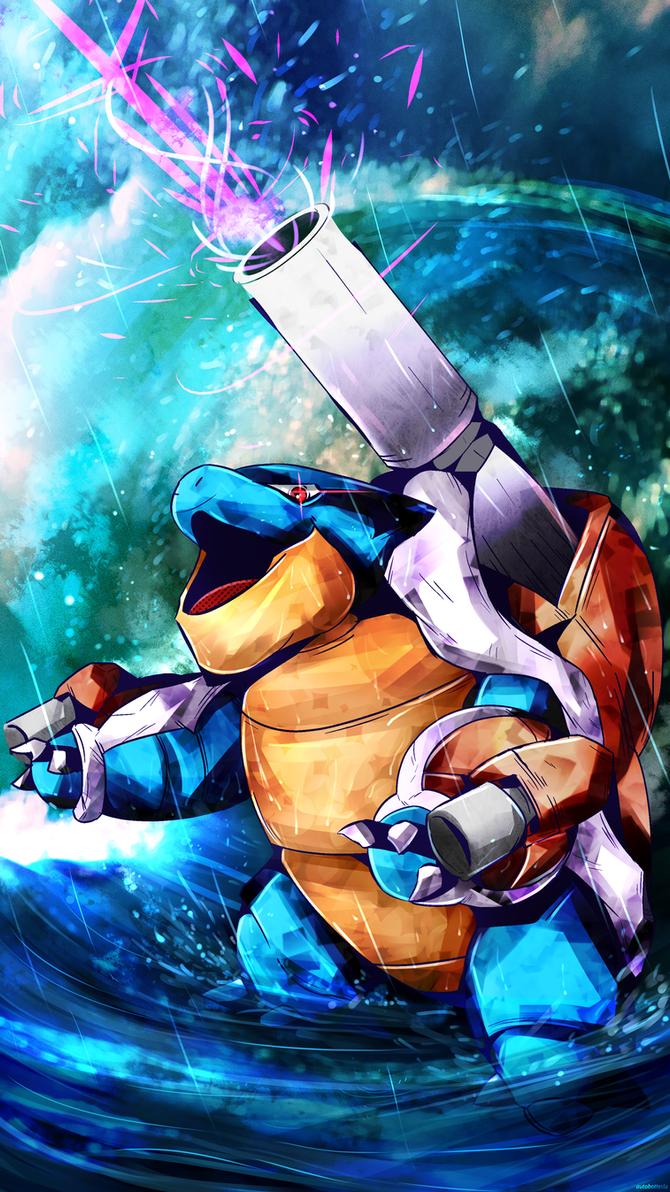 Day 327 - Mega Kamex | Blastoise by AutobotTesla on DeviantArt