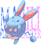 Happy Easter! Azumarill | Marilli