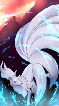 Day 358 - Kyukon   Ninetales (Shiny)