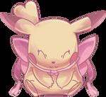 Ribbon Pikachu Commission