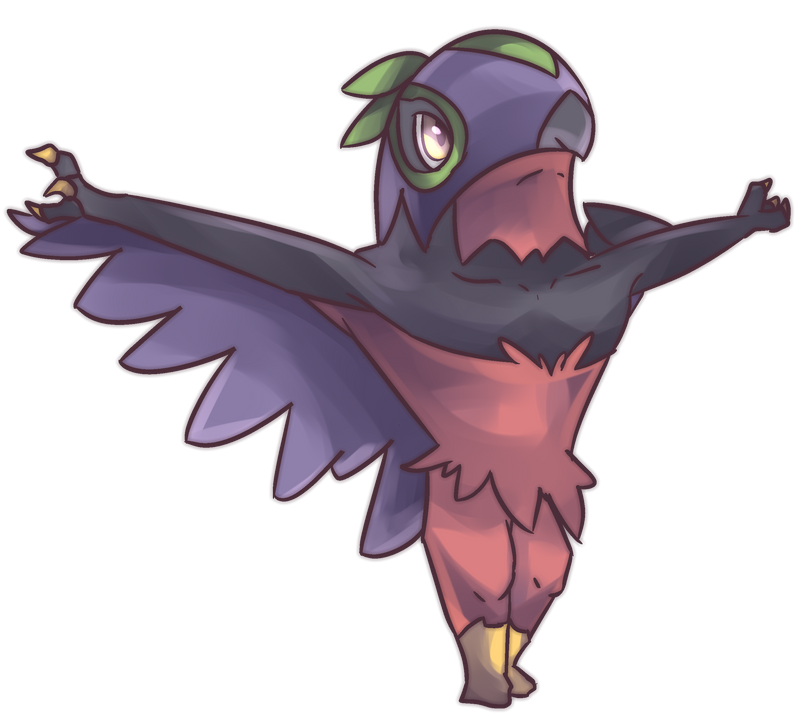 701 Hawlucha Art, Sprites, &- Wallpapers - SpriteDex - PokeDex ...