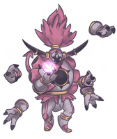Chou Hoopa | Hoopa Unbound Commission by AutobotTesla