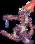 Custom Goukazaru | Infernape Commission