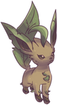 Hanako's Leafeon Commission