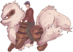 Windie | Arcanine Rider Commission