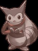 Custom Ootachi | Furret Commission by AutobotTesla