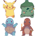 Kanto Starters Commission