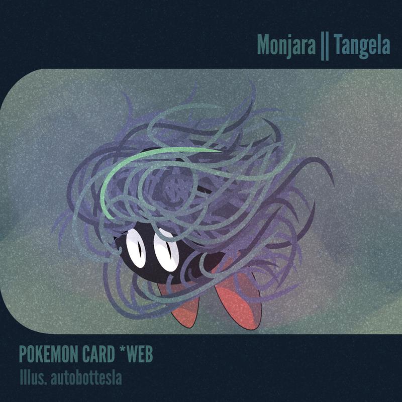 026 POKEMON CARD WEB - Monjara   Tangela by AutobotTesla