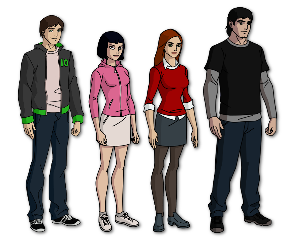 Ben 10 new generation main characters by windmarine on for New generation