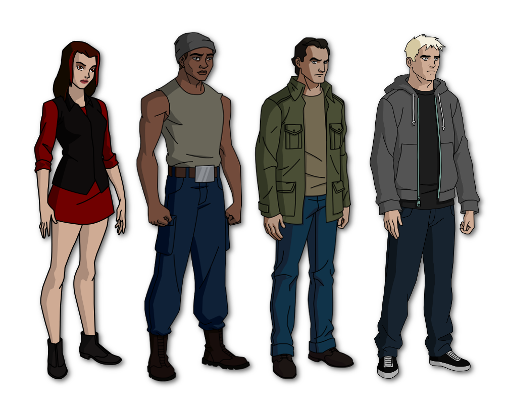 Ben 10 new generation outsiders by windmarine on deviantart for New generation