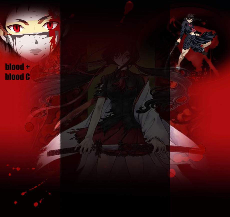 Blood anime youtube background by darkprinceofpersia1 on - Anime background for youtube ...