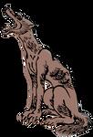 Clipart Honshu Wolf
