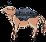 Clipart Suisai(Indian Rhinoceros)