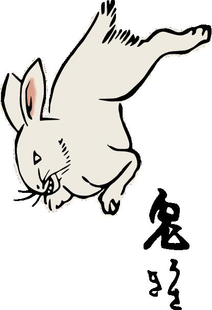 Clipart Rabbit by hansendo