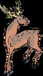 Clipart Sika Deer