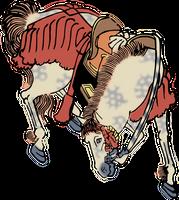 Clipart Horse by hansendo