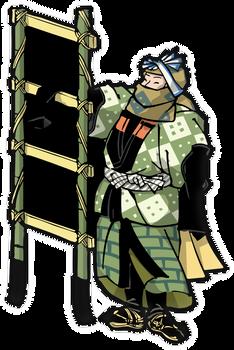 Edo-period Firefighters 002
