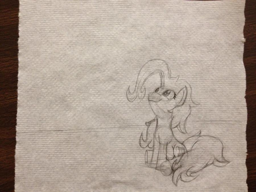 Work break pony 2 by Zookz25