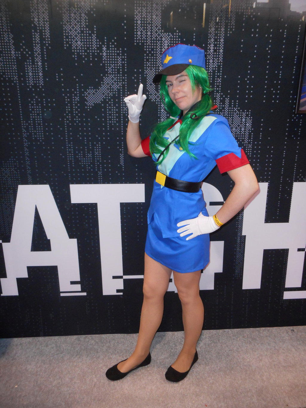 costume cosplay Officer jenny