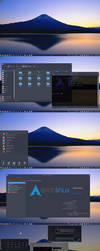 Arch + KDE 5 by giofilth