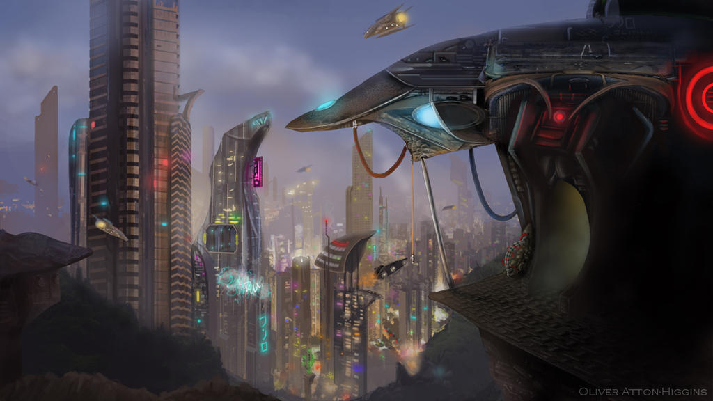 Future City by olivera-h