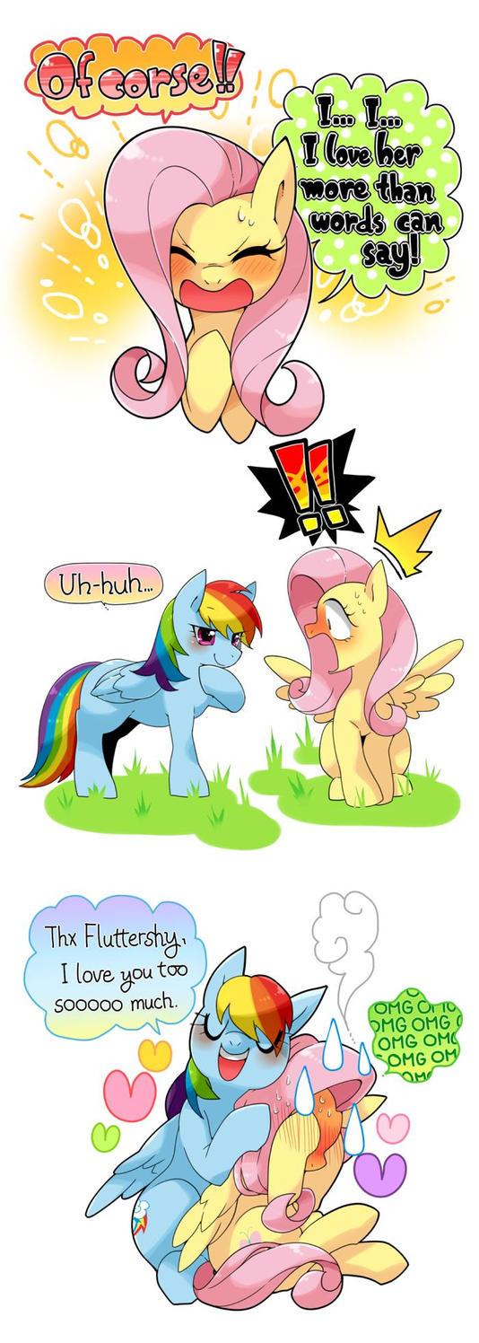Do you love rainbow dash? by MyPonysonicstyle
