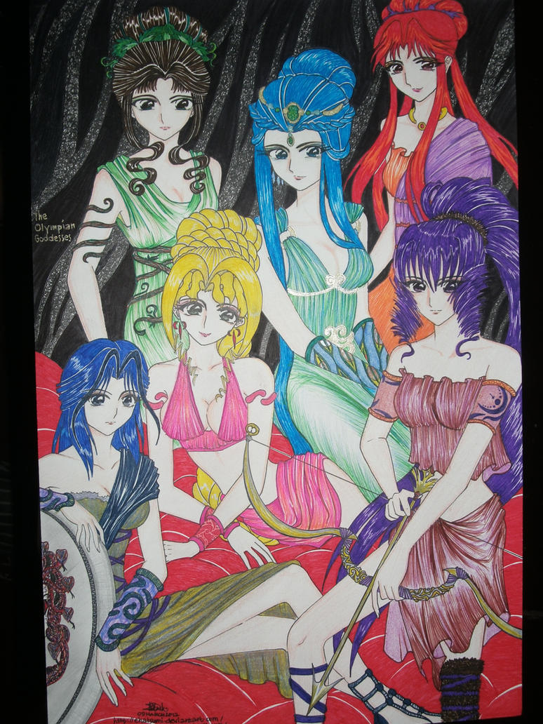 Dioses: The Olympian Goddesses by ehatsumi