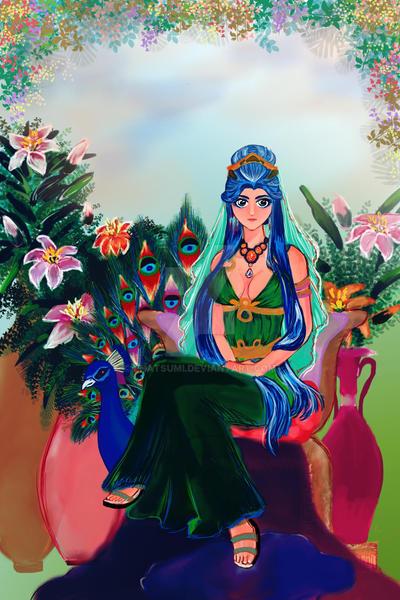 Dioses: Goddess Hera by ehatsumi