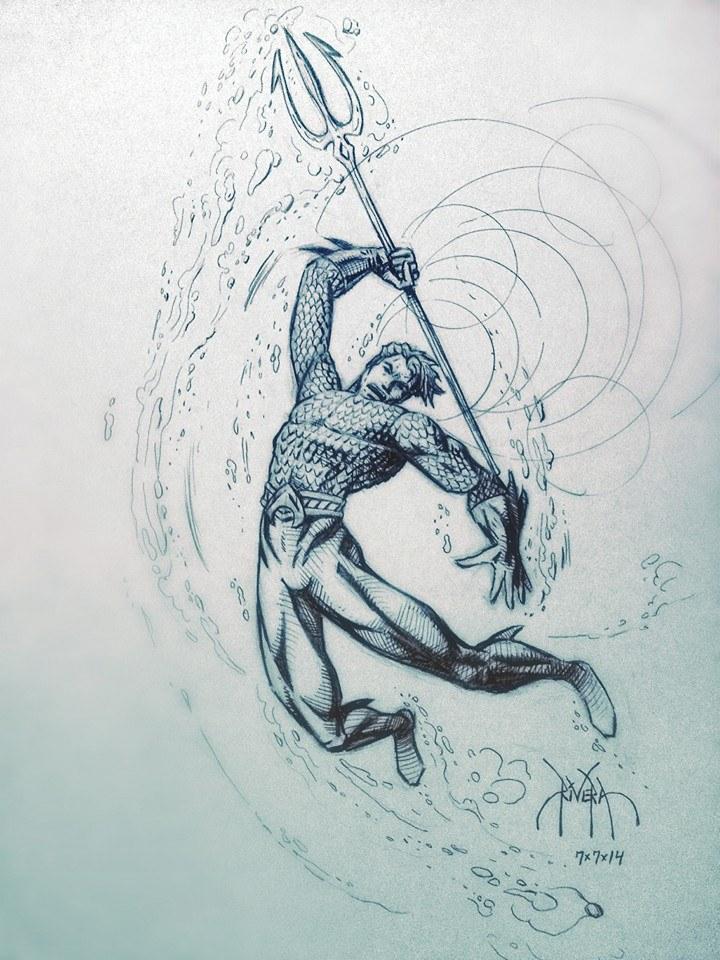 Aquaman by DavidRivera