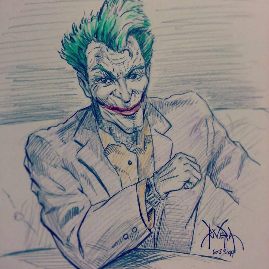 The most interesting Joker in the world. by DavidRivera