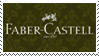 Faber-Castell stamp by the4ce