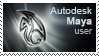 Autodesk Maya Stamp by the4ce