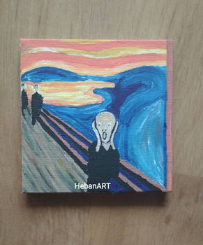Scream Edvard Munch