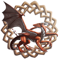Celtic Dragon by the-art-junky