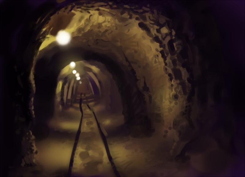 mine shaft wallpaper - photo #17