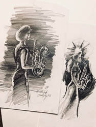 sax girls