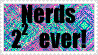 Nerds Forever Stamp by catcolzelda