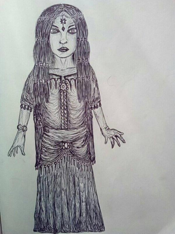 The Gypsy Woman by anasofiajc