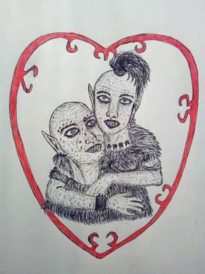Ogrea and Ogroth by anasofiajc