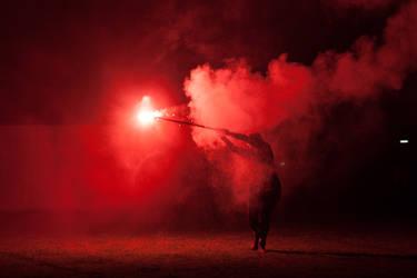 I Really Like Flares - 20th Lantern Parade 2014 by snaphappy7530