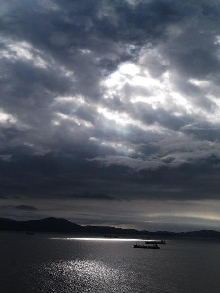 through dark clouds by EmilyPrudent