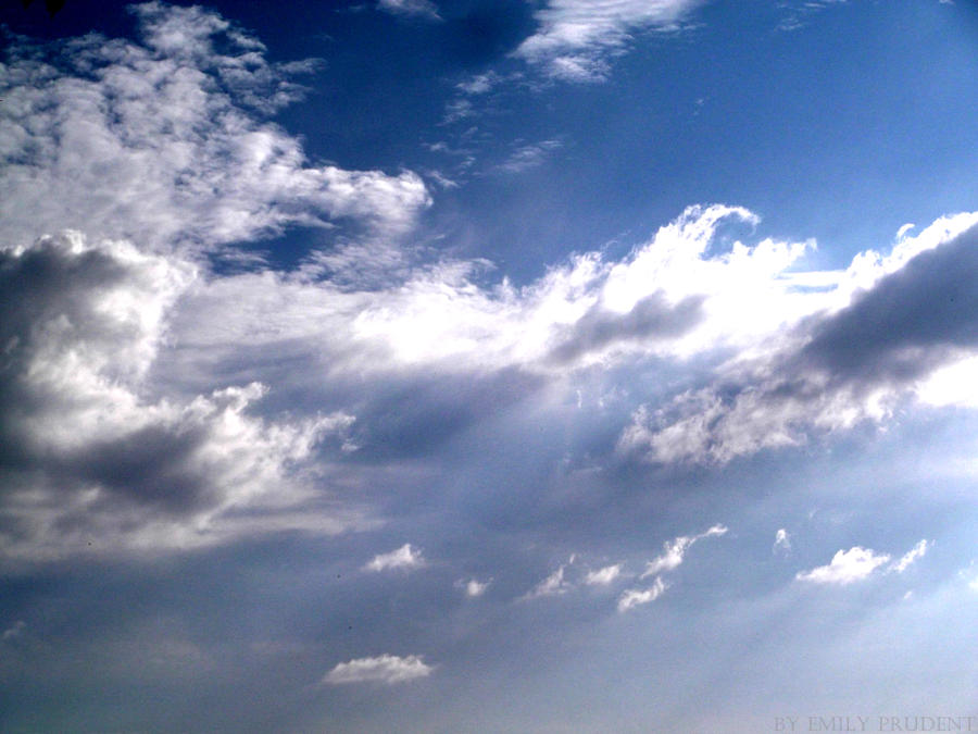 clouds by EmilyPrudent