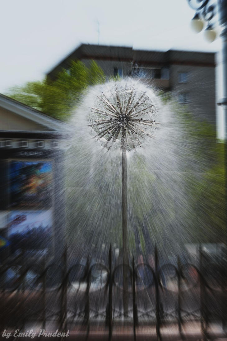 fountain by EmilyPrudent