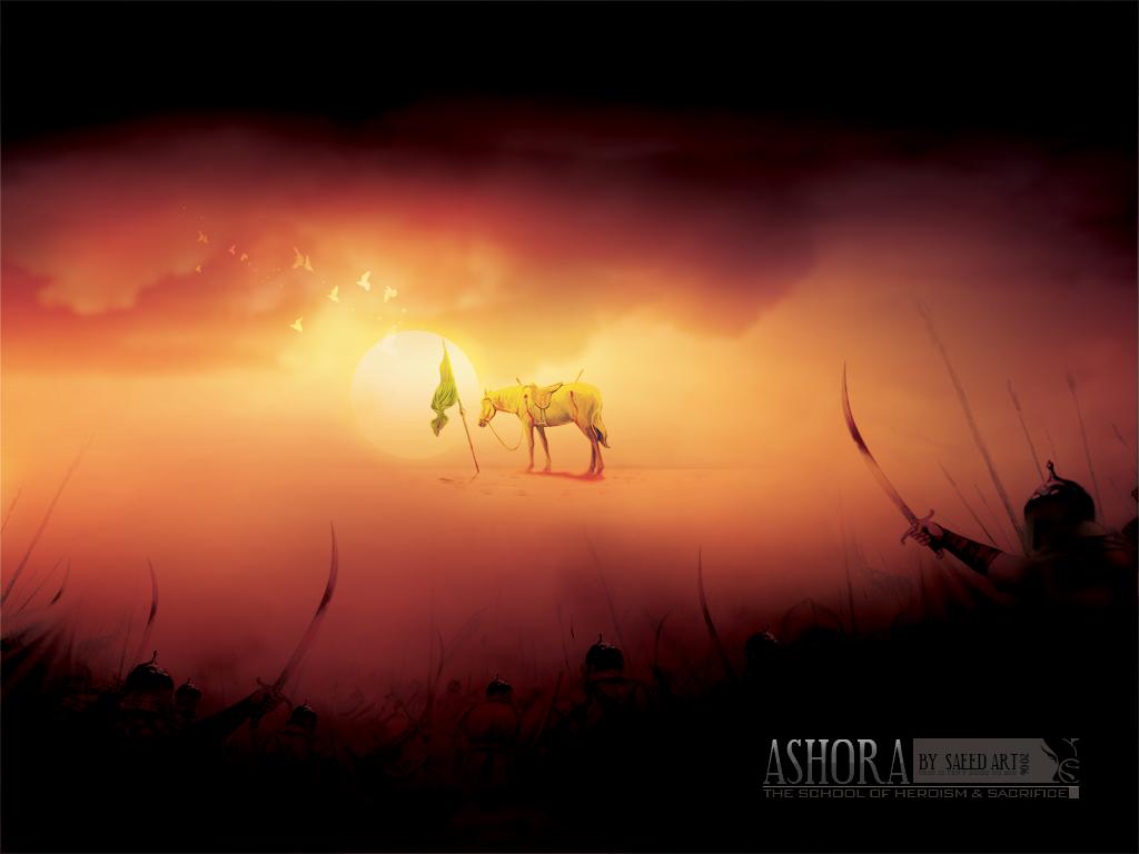 می خواهند نور خدا را خاموش کنند --- امام حسین علیه السلام تنها در میان دشمنان خدا